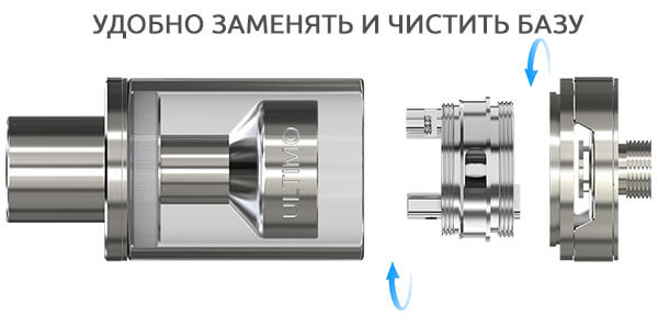Простая замена на базу ULTIMO MG RTA
