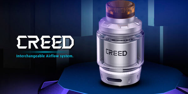 Дизайн Geekvape Creed RTA