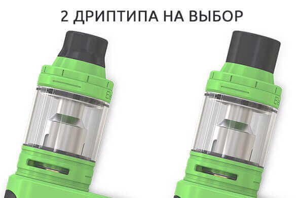 Дизайн Дриптипа Eleaf iKonn 220 with ELLO Kit