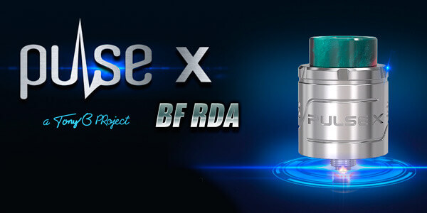 Дизайн Vandy Vape Pulse X BF RDA