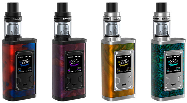 Дизайн SMOK Majesty 225W TC Kit