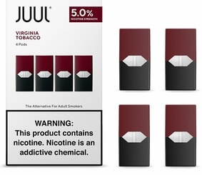 Virginia Tobacco (JUUL Pods) 4 шт.
