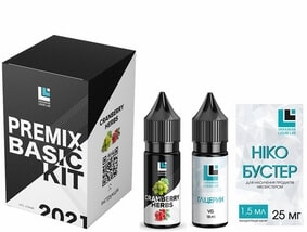 Набор Cranberry Herbs 30 мл Premix Basic Kit (ULL Salt)