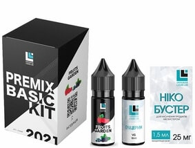 Набор Fruits Garden 30 мл Premix Basic Kit (ULL Salt)