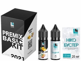 Набор Mango God 30 мл Premix Basic Kit (ULL Salt)
