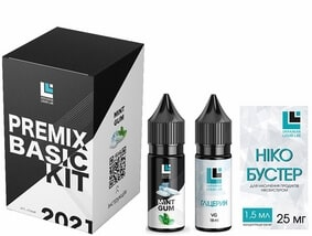 Набор Mint Gum 30 мл Premix Basic Kit (ULL Salt)