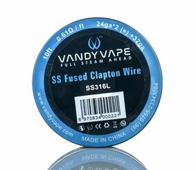 Vandyvape Fused Clapton SS316L 3м